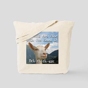 Musical and Goat Humor Tote Bag
