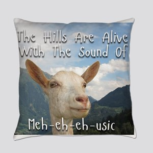 Musical and Goat Humor Everyday Pillow