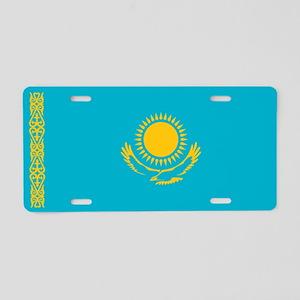 Kazakhstan Flag Aluminum License Plate