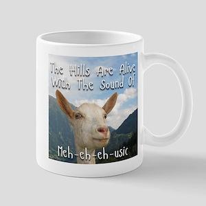 Musical and Goat Humor Mugs
