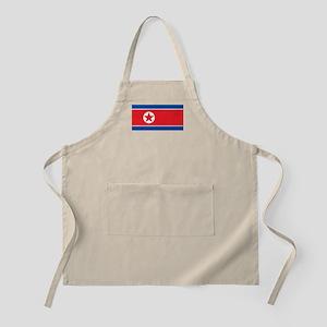 North Korea Flag Apron