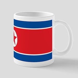 North Korea Flag Mugs