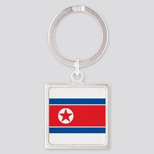 North Korea Flag Keychains