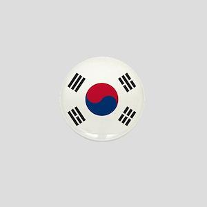 South Korea Flag Mini Button