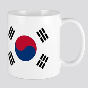 South Korea Flag Mugs