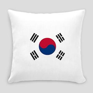 South Korea Flag Everyday Pillow