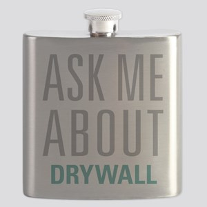 Ask Me About Drywall Flask