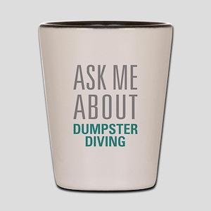 Dumpster Diving Shot Glass