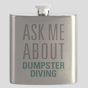 Dumpster Diving Flask