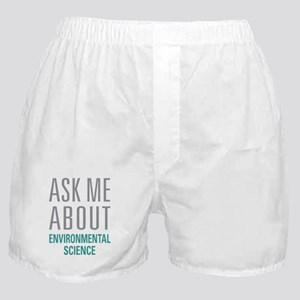 Environmental Science Boxer Shorts