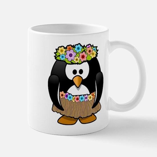 Hawaii Penguin Mugs