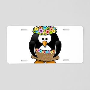 Hawaii Penguin Aluminum License Plate