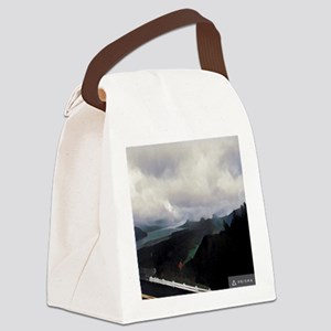 Columbia River Gorge Vista Point Canvas Lunch Bag