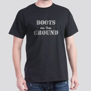 BOOTS on the GROUND Dark T-Shirt