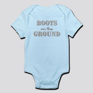BOOTS on the GROUND Infant Bodysuit