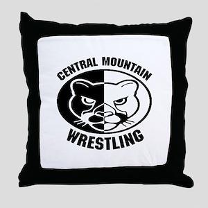 Central Mountain Wrestling 6 Throw Pillow