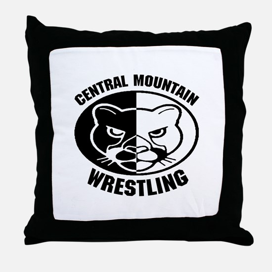 Central Mountain Wrestling 6 Throw Pillow