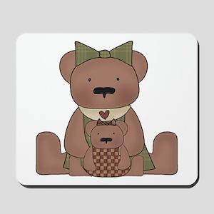 Teddy Bear With Teddy Mousepad