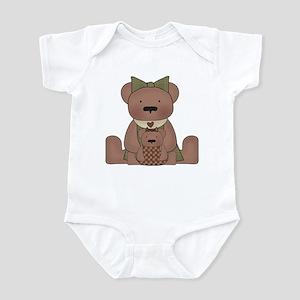 Teddy Bear With Teddy Infant Bodysuit