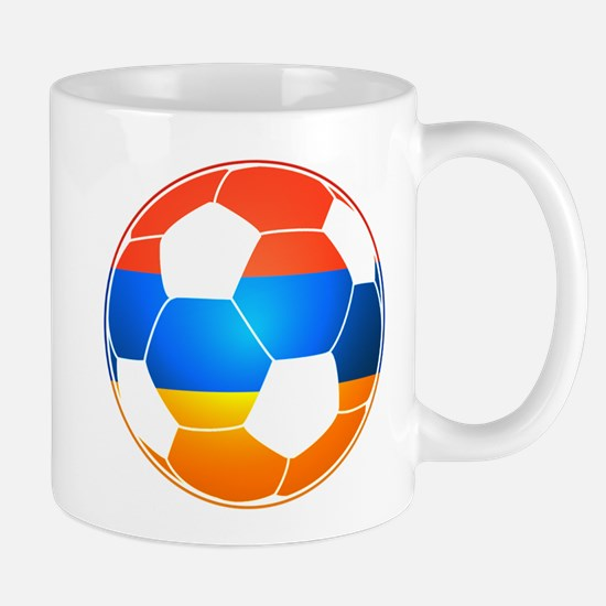 Armenian Soccer Ball Mugs