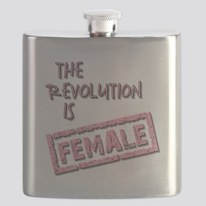 THE REVOLUTION IS... Flask