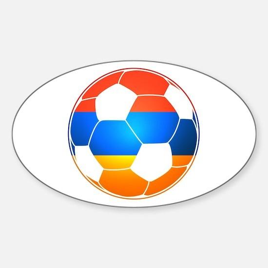 Armenian Soccer Ball Decal