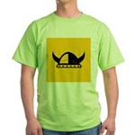 Viking Helmet Green T-Shirt