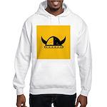 Viking Helmet Hooded Sweatshirt
