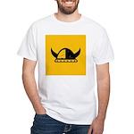 Viking Helmet White T-Shirt