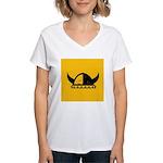 Viking Helmet Women's V-Neck T-Shirt