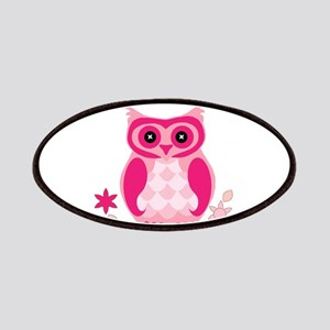 Pink Owl Patch