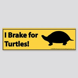 cafTurtleBumper Bumper Sticker