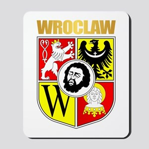 Wroclaw Coat of Arms Mousepad
