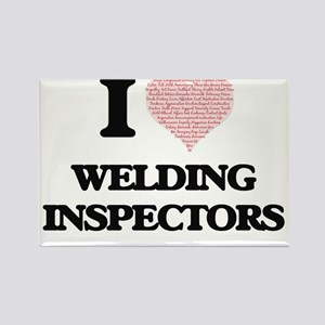 I love Welding Inspectors (Heart made from Magnets