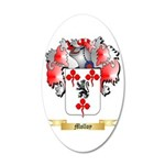 Molloy 20x12 Oval Wall Decal