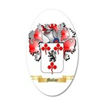 Molloy 35x21 Oval Wall Decal