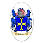 Mollineux Sticker (Oval 50 pk)