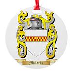 Mollarky Round Ornament