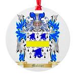 Molitor Round Ornament