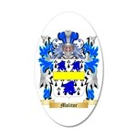 Molitor 20x12 Oval Wall Decal