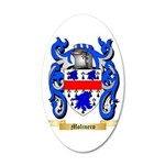 Molinero 20x12 Oval Wall Decal