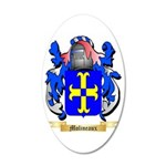 Molineaux 35x21 Oval Wall Decal