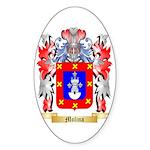 Molina Sticker (Oval 50 pk)