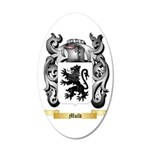 Mold 35x21 Oval Wall Decal