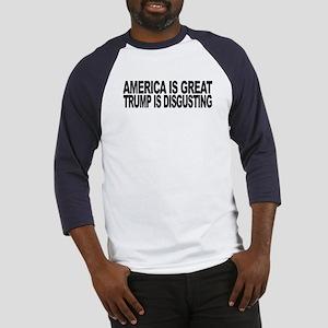America Great Trump Disgusting Baseball Jersey