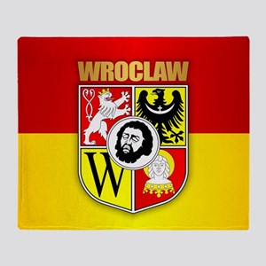 Wroclaw Coat Of Arms Throw Blanket