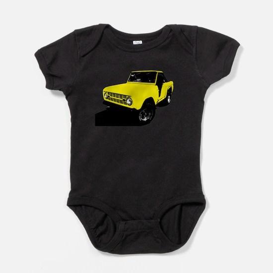 Cute Bronco Baby Bodysuit