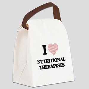 I love Nutritional Therapists (He Canvas Lunch Bag