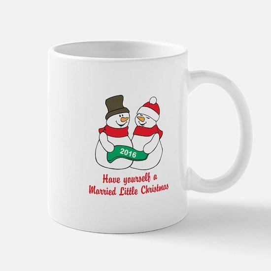 2016 Newlywed Christmas Mugs