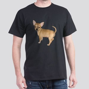Chihuahua Short Hair Dogs Dark T-Shirt